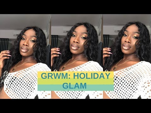 GRWM: HOLIDAY GLAM / LIFE UPDATE: I'M SORRY YOUTUBE | LEONORE CHRISTA
