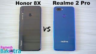 Honor 8X vs Realme 2 Pro SpeedTest and Camera Comparison