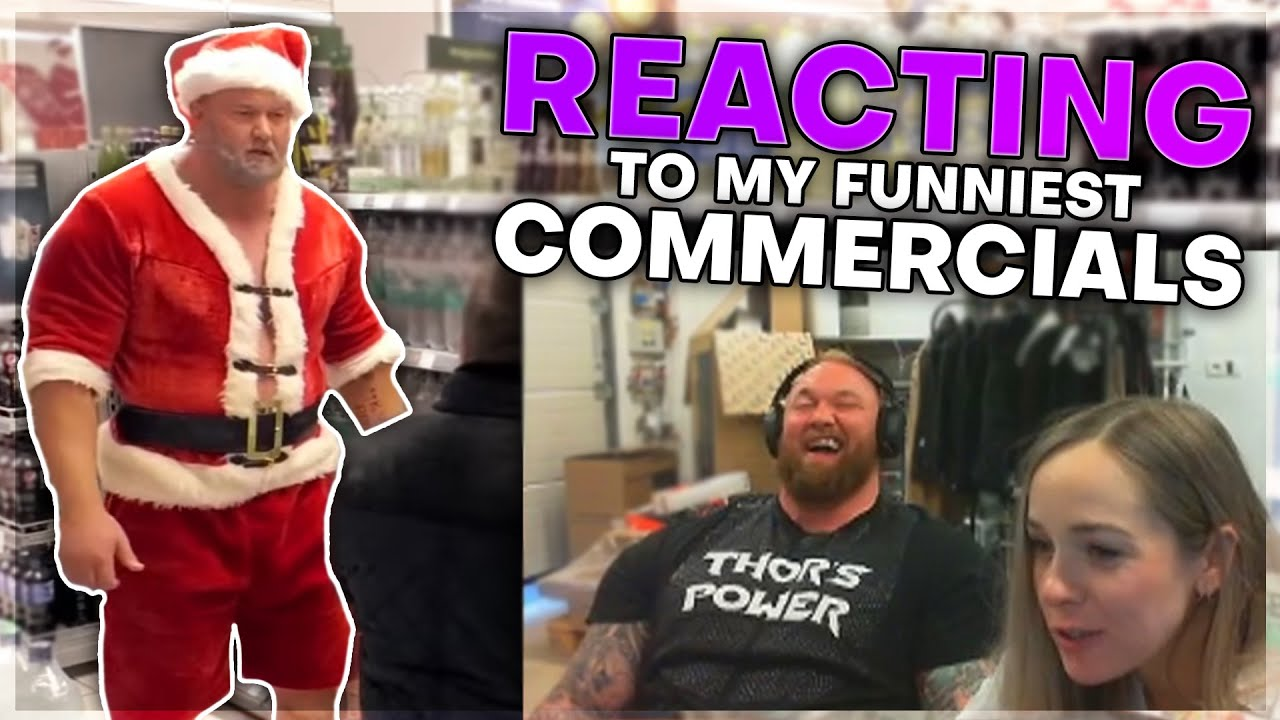 REACTING TO MY FUNNIEST COMMERCIALS | STREAM HIGHLIGHTS #28