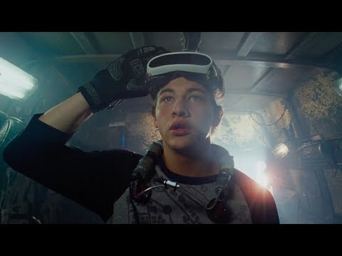 'Ready Player One'   2018  Steven Spielberg, Tye Sheridan