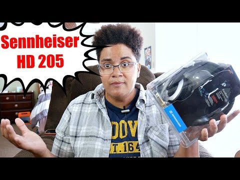 Sennheiser HD 205 Unboxing and First Impressions