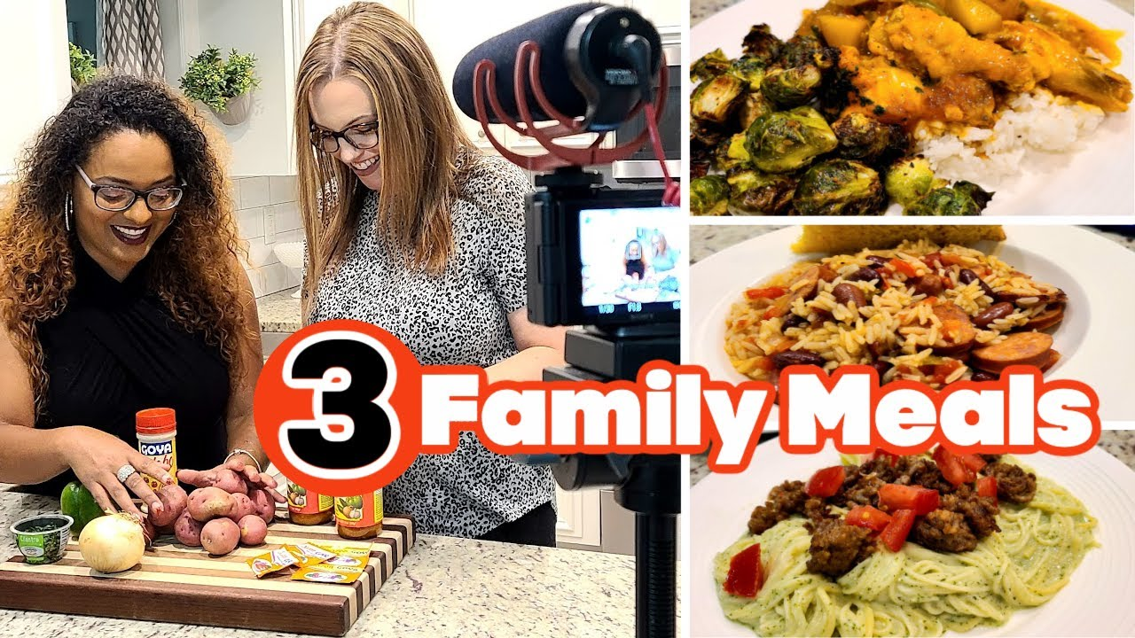 WHAT'S FOR DINNER? | EASY DINNER INSPIRATION | COOKING WITH A FRIEND! | NO. 98