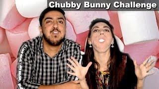 Chubby Bunny Challenge | Food Challenge | Challenge With Amna | Life With Amna