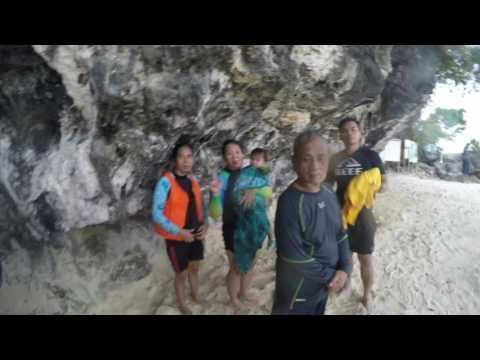 Jamiri Family Island Hopping at Britania Group of Islets, Surigao del Sur