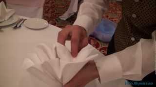 PRO Букетио: Мастер класс салфетка для сервировки стола