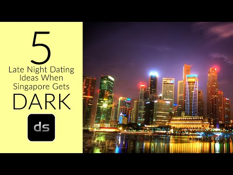 5 Late Night Dating Ideas When Singapore Gets Dark