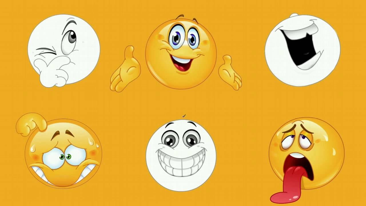 Funny Emoticons Funny Smileys Faces Coloring And Music For Kids