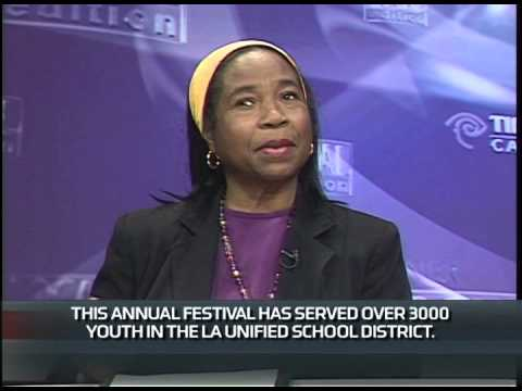 Adilah Barnes, CoFounder and President, Los Angeles Women's Theatre Festival