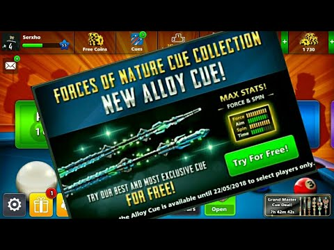 """Free Cue """"Allow Cue Trial"""" 8 Ball Pool - Made By Sergio"""