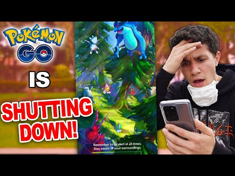 POKÉMON GO IS SHUTTING DOWN… sorta thumbnail