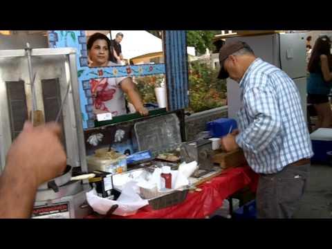 Kurdish Culture Food Booth