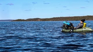 A BIG BLUE LAKE Paddling & Camping Adventure