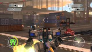 Front Mission Evolved (PS3) Single Player Gameplay