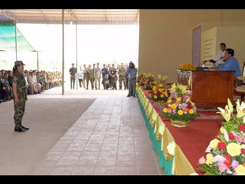 26 August 2016 AM – Samdech Techo Hun Sen visits the Headquarters Division 3