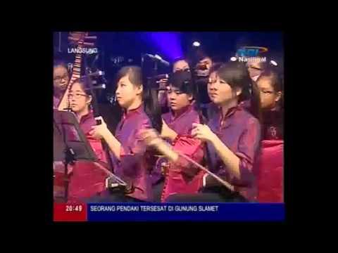 上海滩 Shanghai Tang by Kreasindo Angklung Orchestra & Marsiling Chinese Orchestra