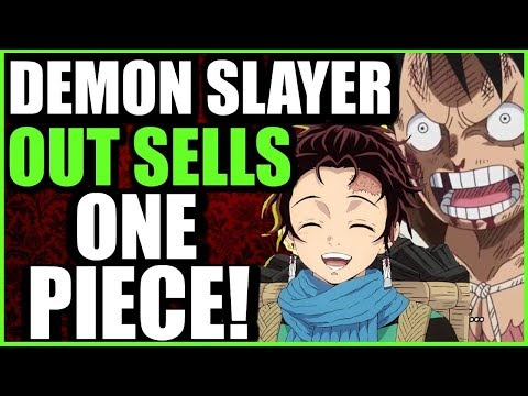 Demon Slayer BEATS One Piece In Manga Sales! Fans From Both Sides Amusingly Take Jabs At Eachother!!