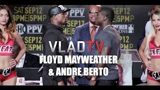 """Mayweather: Berto """"Will Not Lay Down"""" During Upcoming Fight"""
