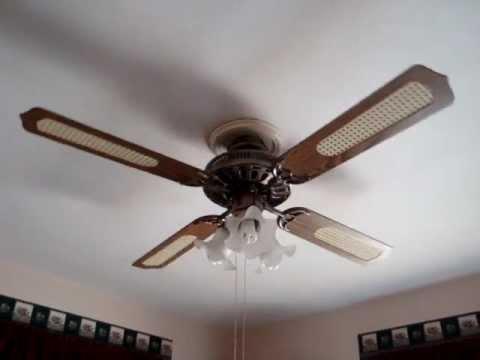 """Heritage 52"""" ceiling fan - YouTube"""