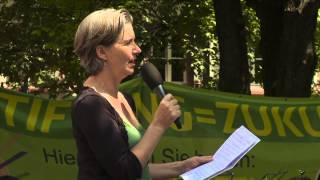 PETRA MÜLLEJANS - Kundgebung für den Erhalt des SWR Sinfonieorchesters Baden-Baden/Freiburg