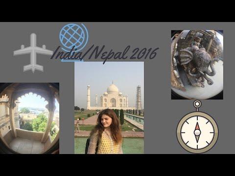 Travel Video India Nepal 2016