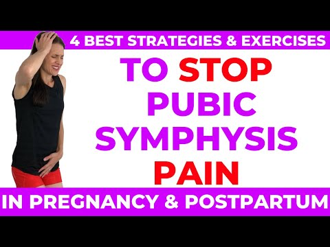 Pubic Symphysis (4 BEST strategies to stop pain)
