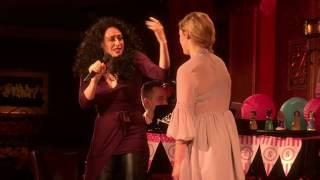 """Broadway Princess Party @ 54 Below Taylor Louderman with Lesli Margherita """"Mother Knows Best"""""""
