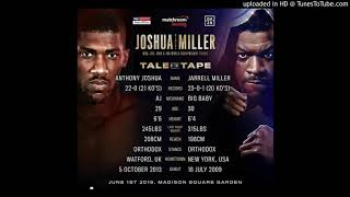 "ANTHONY JOSHUA vs JARRELL ""BIG BABY"" MILLER BREAKS MSG BOXING PRE-SALE RECORD, UK VS USA"