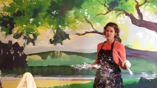 How To Paint A Wall Mural In 1 Day