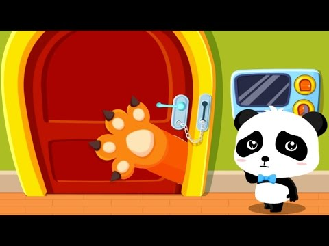 Baby Panda Safety Tips - Kids Learn Safety at Home - Fun Educational Game