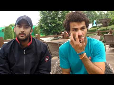 Halle 2012 - Thursday Interview Qureshi Rojer