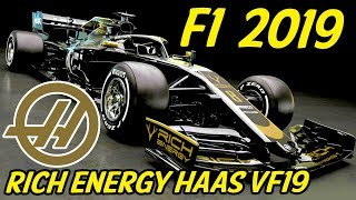 F1 Haas VF19 Discussion - Lets Talk F1 2019 (Rich Energy Haas F1 Team Livery Reveal)
