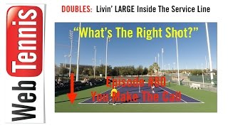 Tennis Doubles Strategy - Whats The Right Shot? #80 - YOU Make The Call