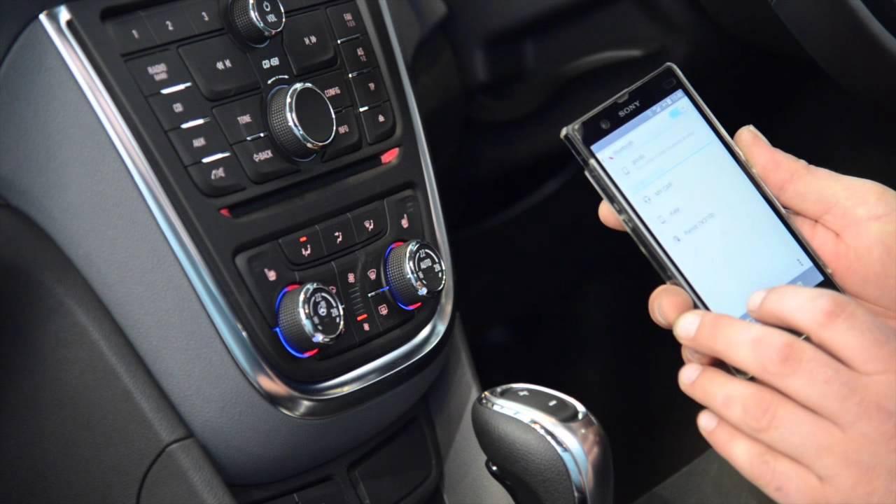 подключение iphone в opel по bluetooth
