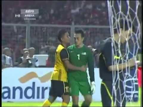 Harimau Baham Garuda Di - Sukan Sea Game 2011 [Football Final Bola] Penalty.mp4