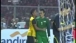 Harimau Baham Garuda Di - Sukan Sea Game 2011 [Football Final Bola] Penalty.mp4