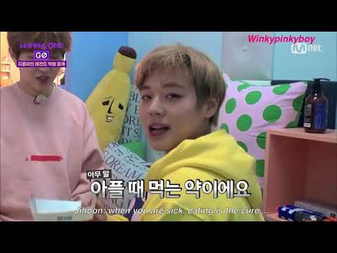 [ENGSUB] Wanna One Go - Jihoon's Mukbang