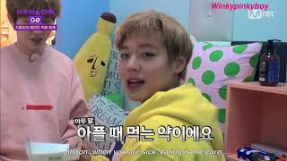 Скачать ENGSUB Wanna One Go Jihoon S Mukbang