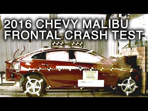 2016 Chevy Malibu Crash Test (Frontal Crash)