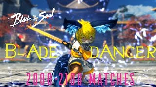 Blade & Soul EU | lv50 Blade Dancer 2000-2100 Arena Matches