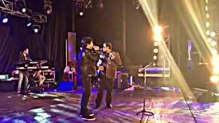 Diwakar sings with Shankar Mahadevan