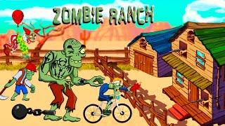 ЗАЩИЩАЙ РАНЧО от ЗОМБИ Чтобы ВЫЖИТЬ! Битва с ТОЛПАМИ ЗОМБИ в Игре Zombie Ranch
