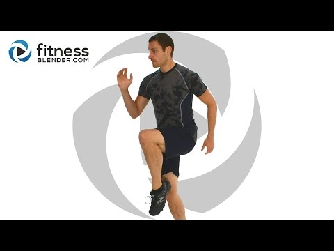 Total Body HIIT and Abs Workout Cardio and Core Combination