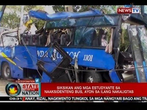SONA: Ilang estudyanteng nakaligtas sa aksidente sa Tanay, Rizal, ikinwento ang mga nangyari