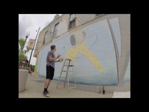Oakland Avenue Mural Time Lapse