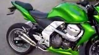 Ma Z750 K7 avec échappement Moto GP Twincans #3