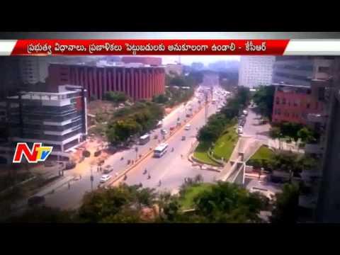Telangana CM KCR reviews on Industrial Sector in Hyderabad || NTV