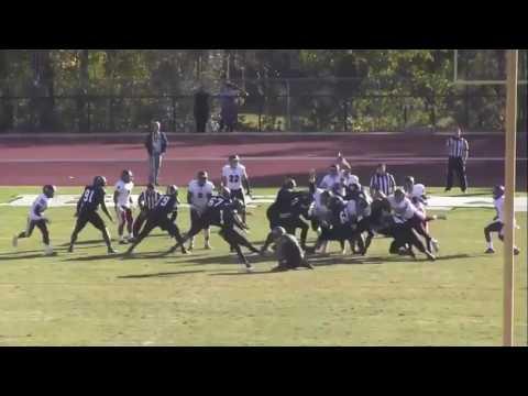 Matt Davis - NFL Prospect - UNC Pembroke - Senior Year Film
