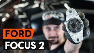 Kako zamenjati ležaj amortizerja / nosilec amortizerja na FORD FOCUS 2 (DA) [VODIČ AUTODOC]