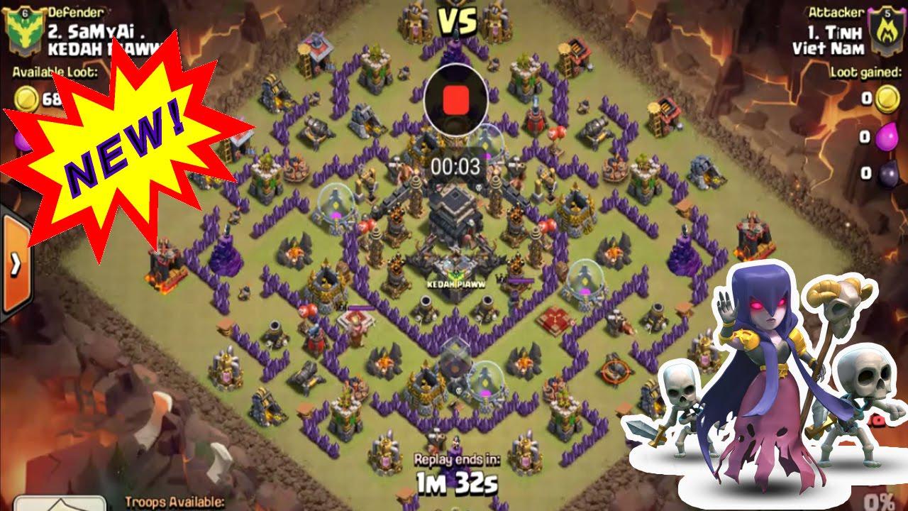 clash of clan town hall 9 war base