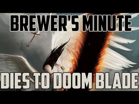 Brewer's Minute: Dies to Doom Blade